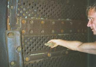 Дражные бочки с размер отверстий грохота 20 мм.