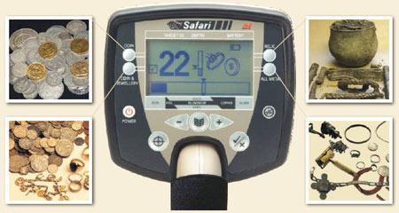 Металлодетектор Safari создан для поиска кладов, монет, золотых украшений. www.kladoiskatel.ru
